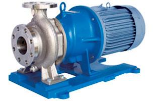 Magnetkoblede centrifugalpumper
