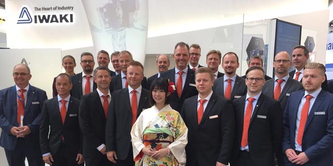 IWAKI Nordic på Achema Juni 2018
