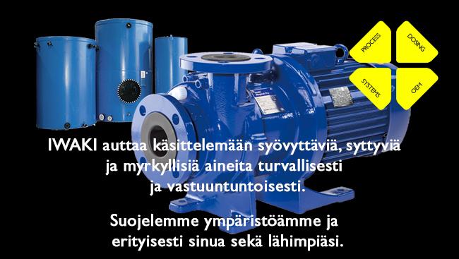 IWAKI Suomi OY - Mission Statement