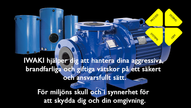 IWAKI Sverige AB - Mission Statement
