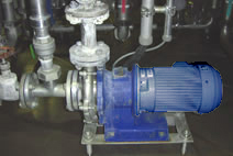 Mag-drive pump MP-series in SIP application