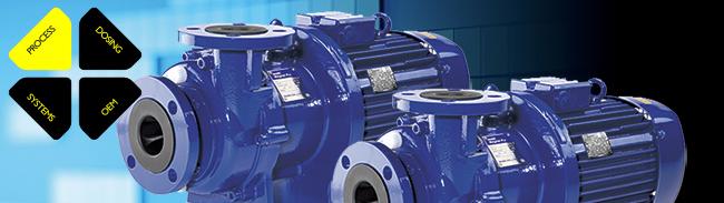 Magnetkopplade pumpar