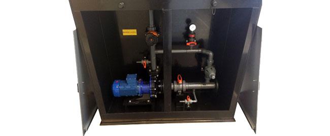 pumpestation til ammoniakvand
