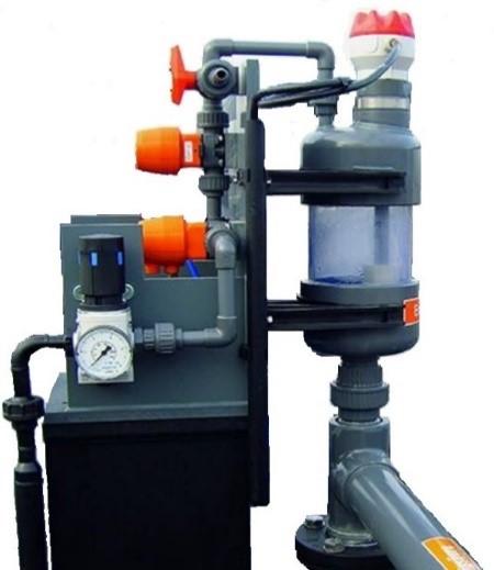 automatisk vakuum system