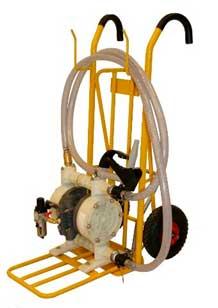 Mobile tralle w/ AODD pump