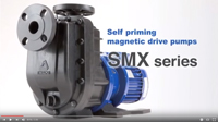 Self-priming SMX pump