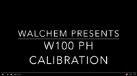 walchem W100 caliboration